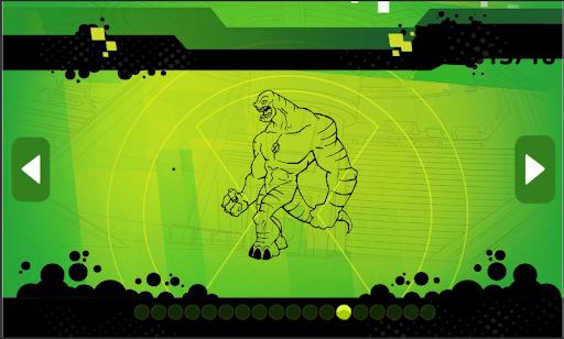 Ben Coloring 10 Heros Ultimate  Screenshots 3