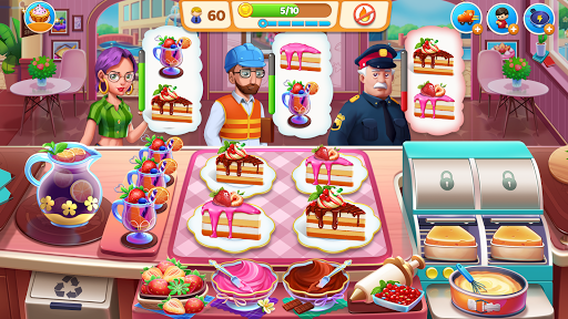 Food Voyage: New Games 2021 & Pizza Cooking Games  updownapk 1