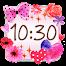 Cute Clock Widget 2 【FREE】