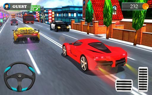 Car Racing in Fast Highway Traffic 2.1 screenshots 4