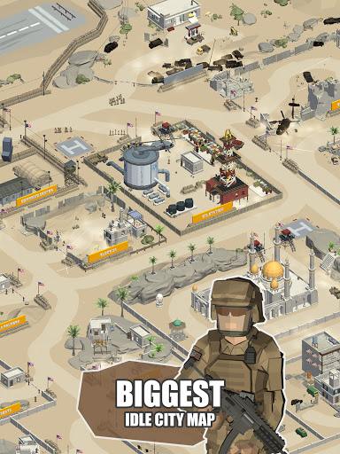 Idle Warzone 3d: Military Game - Army Tycoon screenshots 8