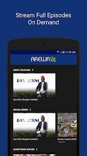 AREWA24 ON DEMAND Screenshot
