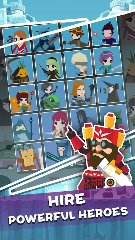 Tap Titans 2: Heroes Attack Titans. Clicker on! poster 3