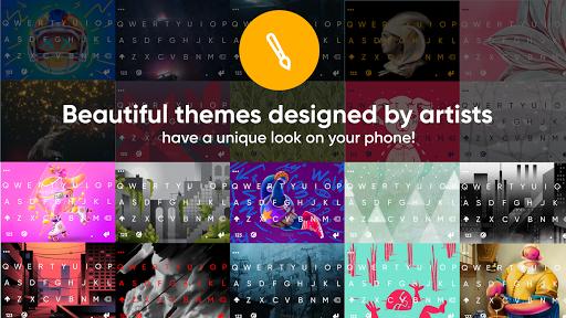 Fleksy GIF keyboard - Free Emoji-keyboard & GIPHY 10.2.5 Screenshots 5