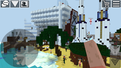 WorldCraft: 3D Build & Block Craft 3.7.1 Screenshots 11