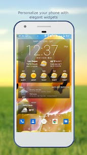Weather & Clock Widget for Android 1