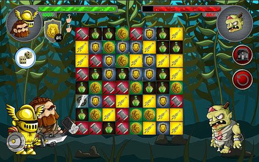 LEGENDARY MONSTER WAR PUZZLE  screenshots 9