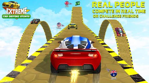 Car Stunt 3D Unlimited: GT Racing Go Car Driving screenshots 1