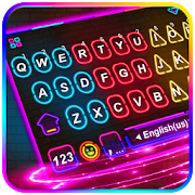Multi Color Led Light Keyboard Theme