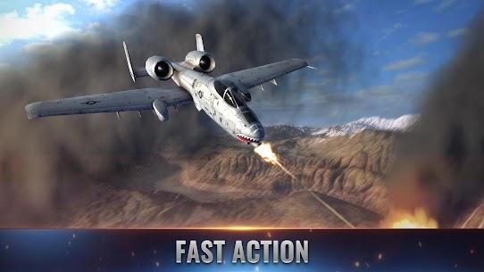 Fighter Pilot: HeavyFire Mod Apk 0.90.34 (A Lot of Gold Coins) 1