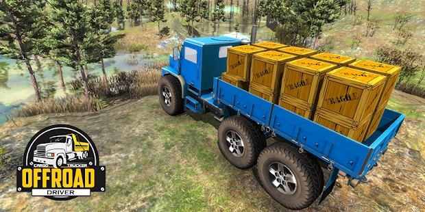 Offroad Driver Cargo Trucker screenshots 4
