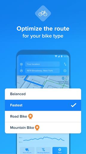 Bikemap - Your Cycling Map & GPS Navigation screenshots 4