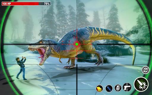 Dino Hunting 3d - Animal Sniper Shooting 2021  screenshots 14
