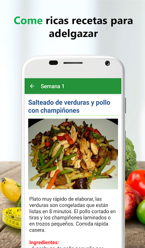 Foto do Dieta sana para adelgazar
