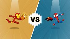 Spider Stickman Fighting - Supreme Warriorsのおすすめ画像4