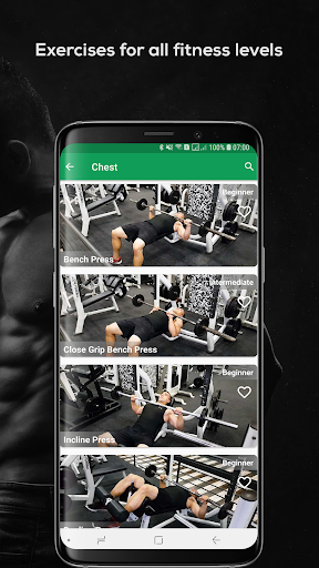 Fitvate - Home & Gym Workout Trainer Fitness Plans