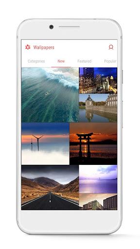 GO Launcher - 3D parallax Themes & HD Wallpapers 3.29 Screenshots 7