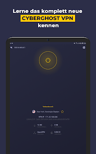 VPN by CyberGhost - Fast & Secure WiFi Protection Screenshot