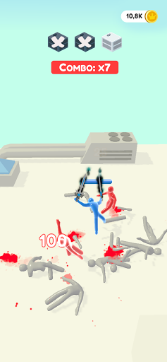 Jelly Fighter: Color candy & stickman games 0.7.0 screenshots 13