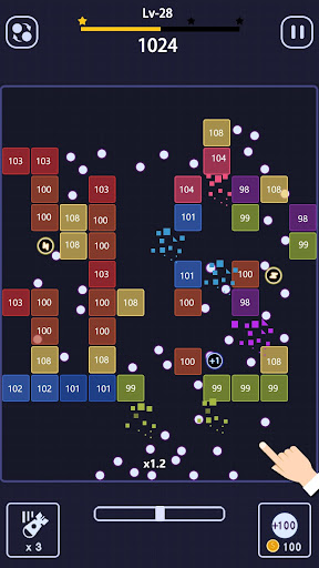 Bricks Breakeru00a0- Glow Ballsu00a0Blast screenshots 2
