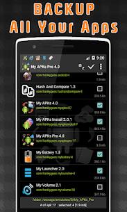 My APKs Pro v4.2 MOD APK – backup manage apps apk advanced 1