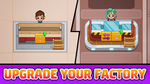 Idle Factory Tycoon: Business!  screenshots 2