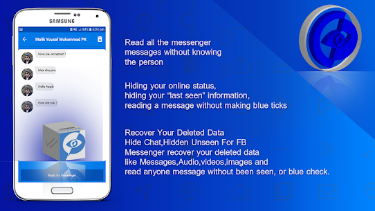 Hidden Chat, Hide Unseen Chat For Messenger 2