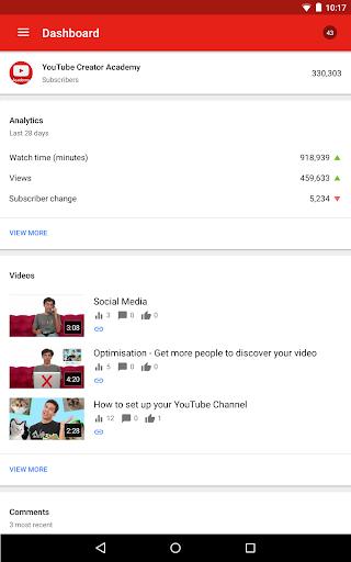 YouTube Studio 20.47.101 Screenshots 10