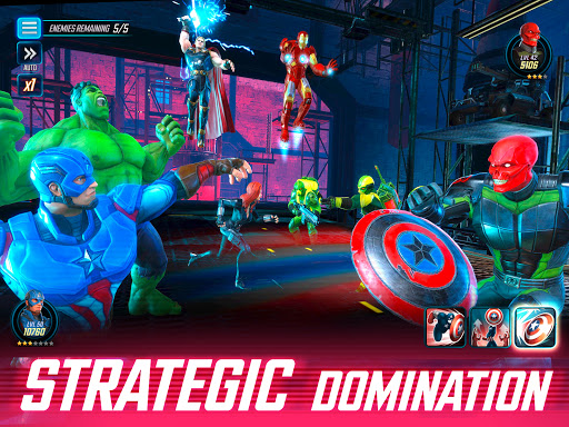 MARVEL Strike Force - Squad RPG 5.2.1 screenshots 9