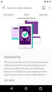 Tor Browser: Official, Private, & Secure Screenshot