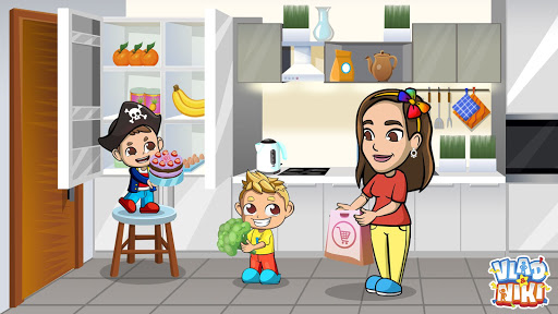 Vlad & Niki Supermarket game for Kids  screenshots 3