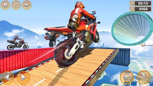 Mega Ramp Impossible Tracks Stunt Bike Rider Games 2.9.8 Screenshots 8