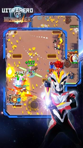Ultrahero  vs monsters