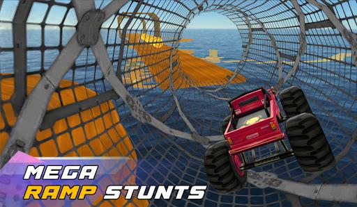Ultimate Monster Truck: 3D Stunt Racing Simulator screenshots 1