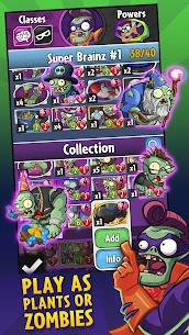Download Plants vs. Zombies Heroes Zombies and Plants game: Android heroes mod 2
