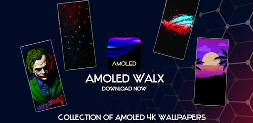 AMOLED Wallpapers 4K - Auto Wallpaper Changer .APK Preview 0