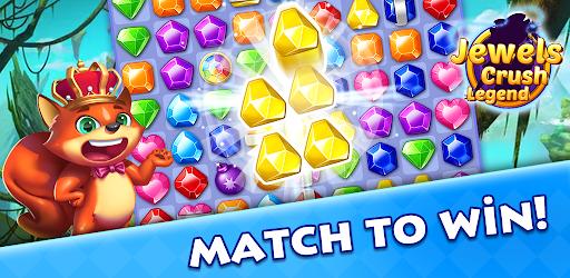 Jewels Crush Legend- Diamond & Gems Free Match 3 1.0.5 screenshots 7