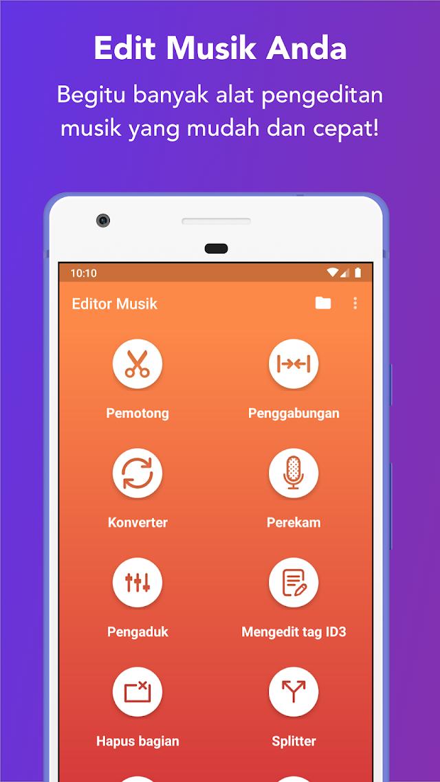 10 Aplikasi Edit audio di Android