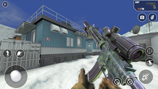 FPS Cover Strike 2021 Mod Apk (God Mode/Dumb Enemy) 2