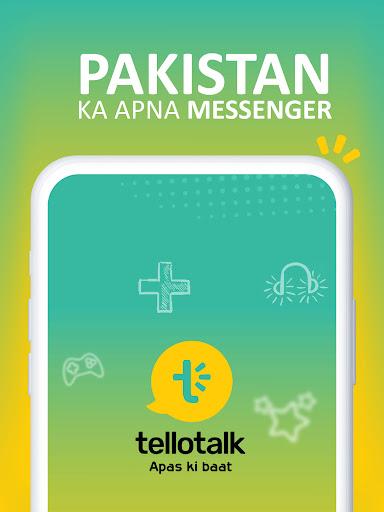 Tellotalk : Pakistan Ka Apna Messenger apktram screenshots 17
