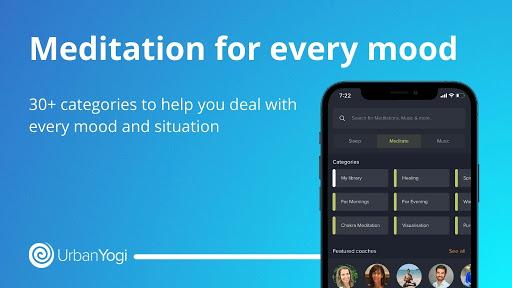 UrbanYogi - Meditate, Sleep & Relax android2mod screenshots 2