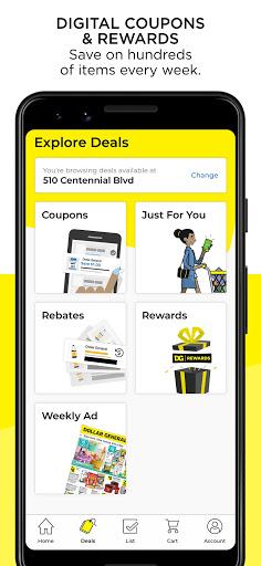 Dollar General u2013 Digital Coupons, DG Pickup & More apktram screenshots 2
