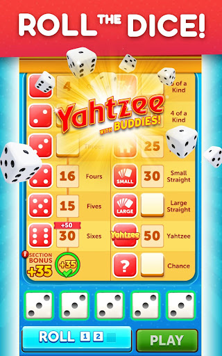 YAHTZEEu00ae With Buddies Dice Game 8.0.2 screenshots 17