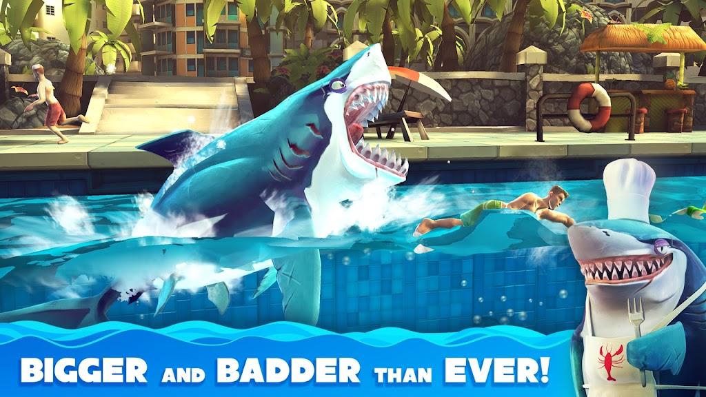Hungry Shark World poster 2