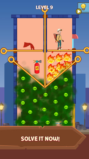 Pull Him Up: Brain Hack Out Puzzle game 1.0 screenshots 5