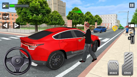 City Taxi Driving: Fun 3D Car Driver Simulator 3