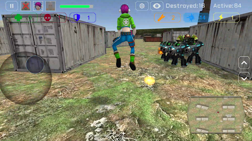 Ghost Squad: Warbots Battle screenshots 23