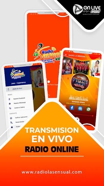 Radio La Sensual Cajamarca screenshot 3