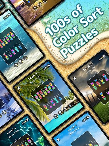 Ballscapes: Ball Sort Puzzle & Color Sorting Games  screenshots 11