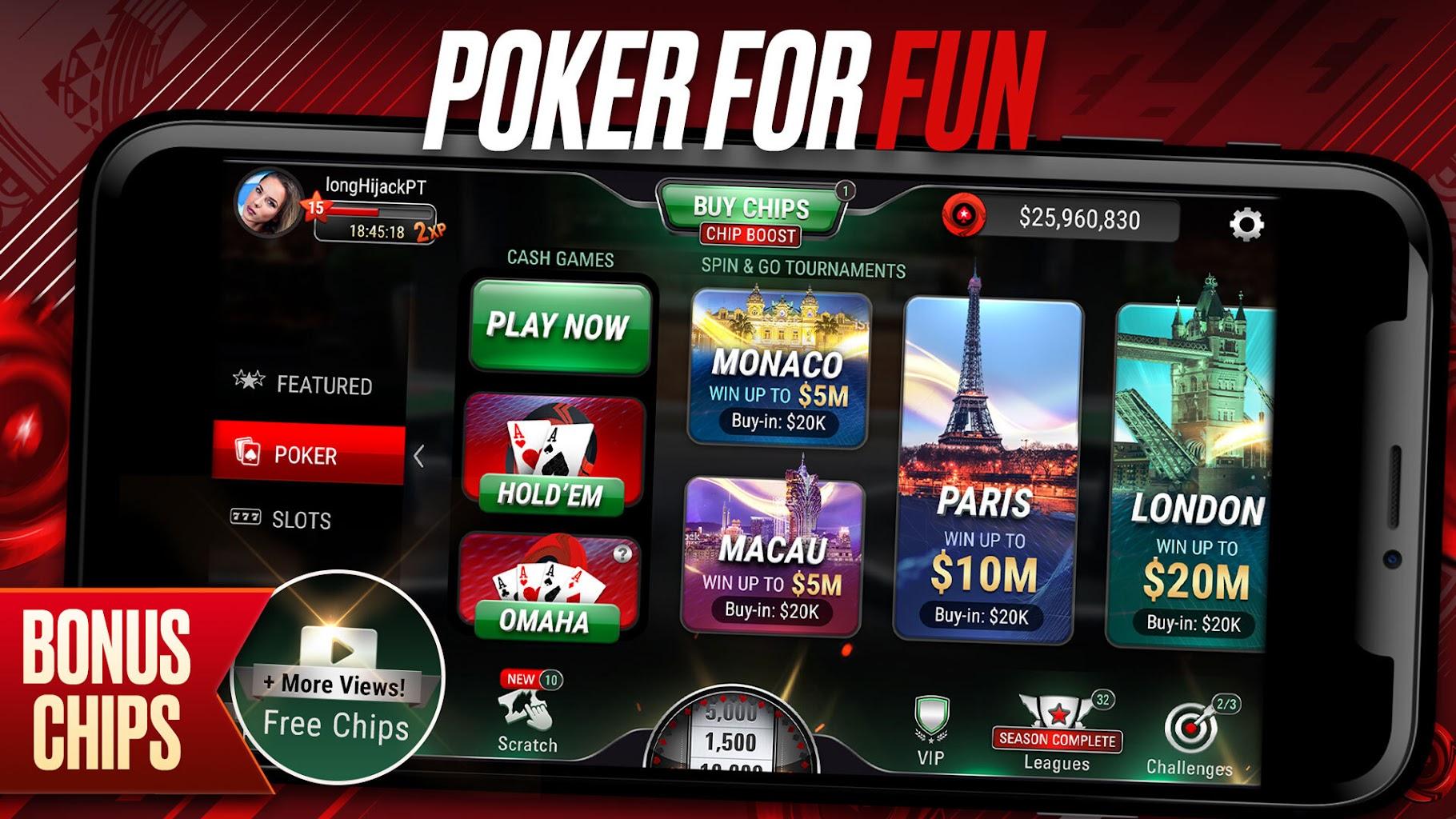 Jackpot Poker By Pokerstars Free Poker Online 6 2 6 Apk Download Com Pokerstars Cebo Apk Free